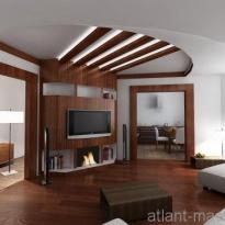 Дизайн проект гостиной 2