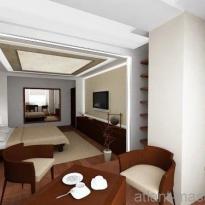 Дизайн проект гостиной 3