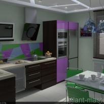 Дизайн проект кухни 1