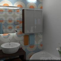 Дизайн проект ванной 1