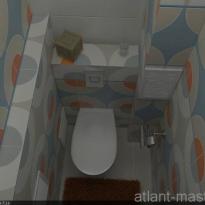 Дизайн проект ванной 3