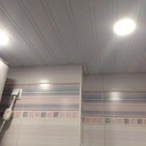 Ремонт  ванной и туалета - Ленсоветовский (потолки)