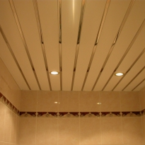 установка реечных потолков для ванной комнаты