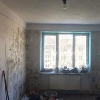 Вид комнат на нулевом цикле ремонта