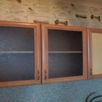 Фото кухни до начала ремонта - вид шкафчиков