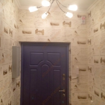 Входная дверь в квартиру до ремонта