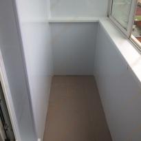 Внутренняя отделка балкона - обшивка пластиком