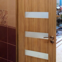 Замена двери в ванной