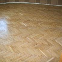Результат шлифовки деревянного пола