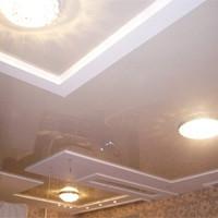 Фото отделки потолков