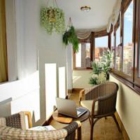 Фотографии ремонта балконов и лоджий