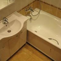 Примеры отделки ванных комнат