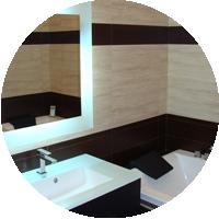 Выбор и размещение умывальника для ванной